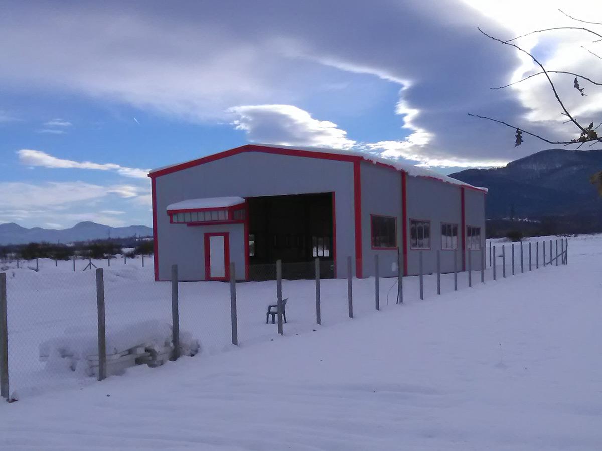 Производствена сграда - с. Трудовец