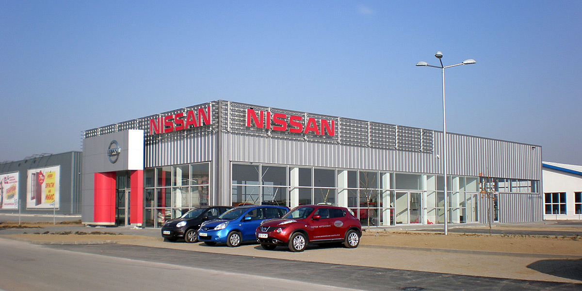 New home for Nissan in Plovdiv