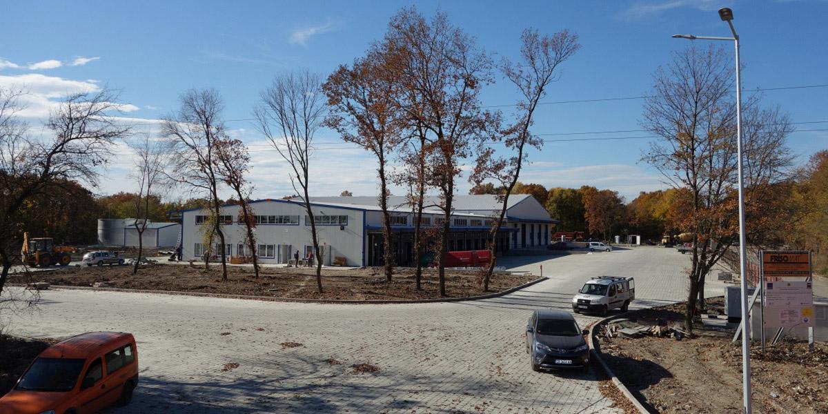 New logistics center of Speedy